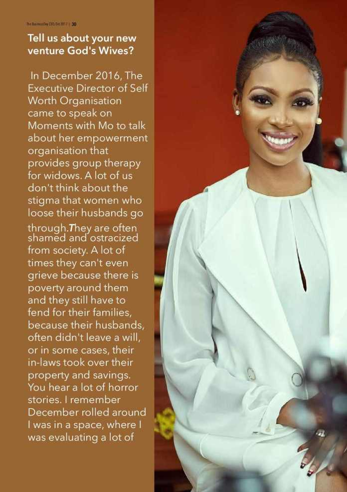 Bolanle Olukanni Covers The 7th Edition Of The Business Day CEO Magazine 3