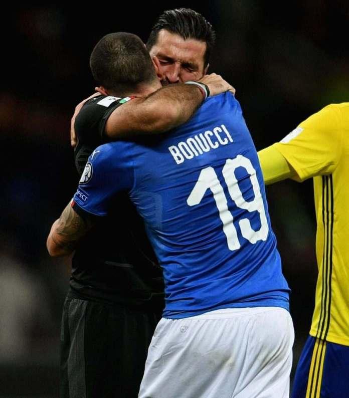 Buffon, Barzagliand de Rossi Announces Retirement, As Italy Fail To Reach World Cup 6