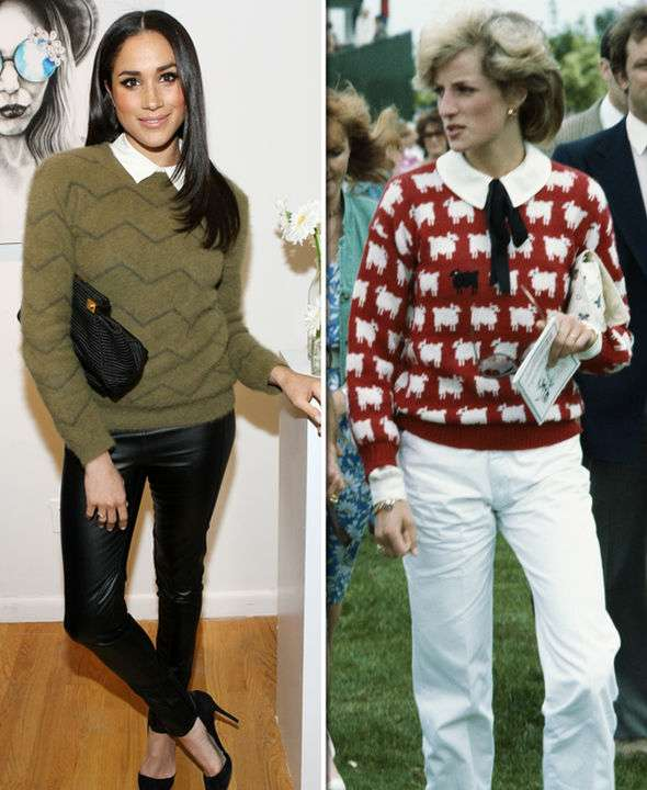 7 Photos That Prove That Meghan Markle Is Not A Far Cry From Princess Diana 6