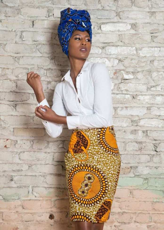 Jummah Fashion: Wearing Turbans On Your Ankara Detailed Outfits 1