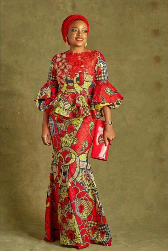 Jummah Fashion: Wearing Turbans On Your Ankara Detailed Outfits 5