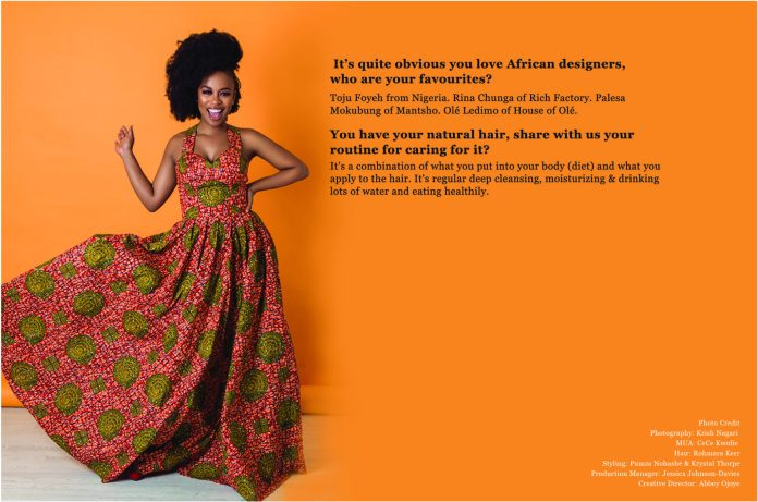 We Are The Groundbreakers! South African Actress Nomzamo Mbatha Talks Rihanna, Being UNHCR Ambassador And A Bright Future For Africans...As She Covers The KOKO Magazine 13