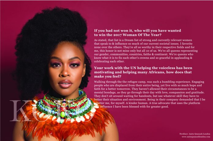 We Are The Groundbreakers! South African Actress Nomzamo Mbatha Talks Rihanna, Being UNHCR Ambassador And A Bright Future For Africans...As She Covers The KOKO Magazine 6