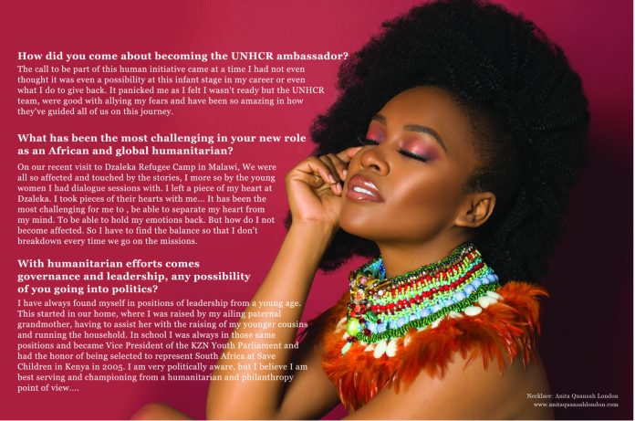 We Are The Groundbreakers! South African Actress Nomzamo Mbatha Talks Rihanna, Being UNHCR Ambassador And A Bright Future For Africans...As She Covers The KOKO Magazine 7