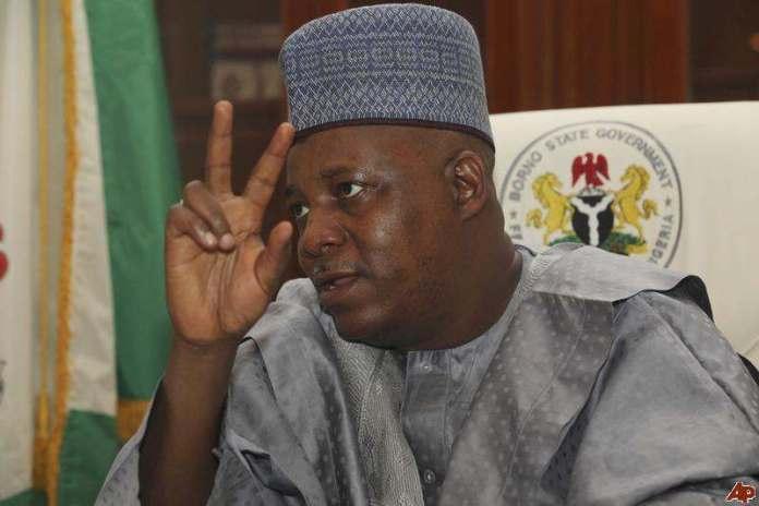 #SenatePresidency: Amosun, Shettima Holds Meeting Over Senate Presidency 2