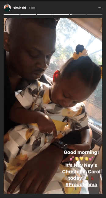 A United Family! Dr Sid And Simi Esiri Attend Their Daughter's Christmas Carol Together 1