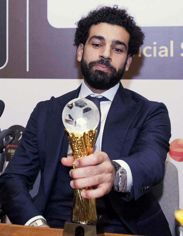 Liverpool Footballer Mohamed Salah Beats Sadio Mane and Pierre-Emerick Aubameyang To Win 2017 African Player of the Year 1