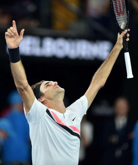 Federer Wins His 100th Match In Wimbledon Reaches 13th Semi-Final 2