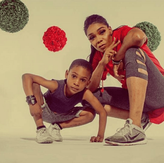Like Mother Like Son! Kaffy's Son, Sean, Gave Some Killer Dance Moves To Olamide's 'Science Student' 1