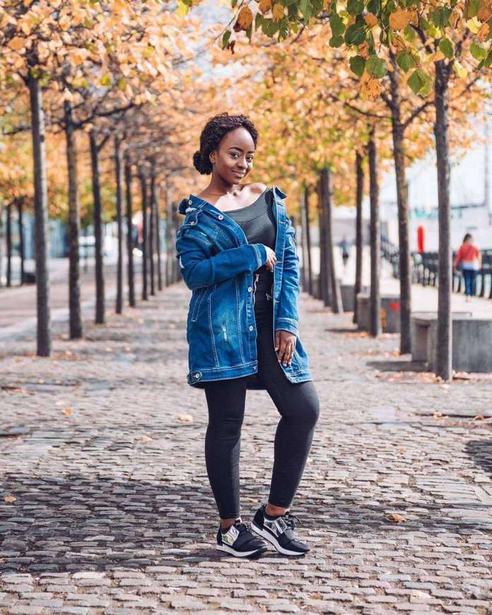 KOKOnista Of The Day: Florence Olufemi's Style Speaks Fashion In Winter 2