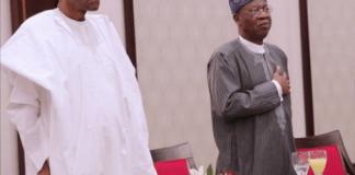 Buhari and Lai Mohammed
