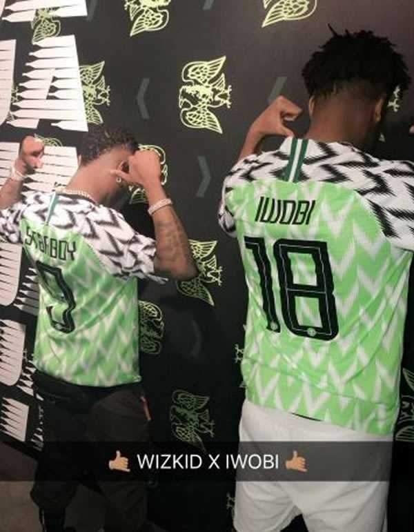 Nigeria have released their home and away kits for the 2018 World Cup as the  Super Eagles pay homage to their USA 1994 ... d5df23a6c