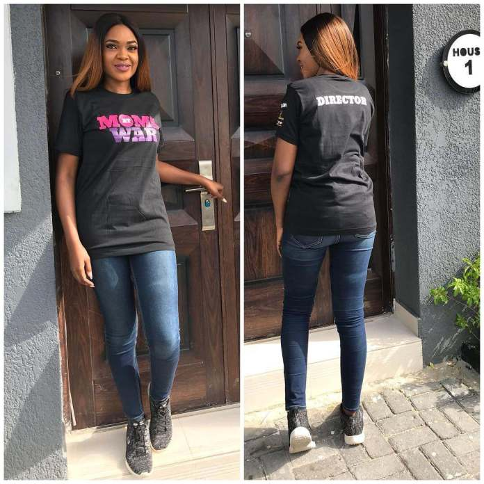 "Omoni Oboli Looks Absolutely Fantastic As She Steps Out For Filming Of Her New Movie ""Moms At War"" 2"