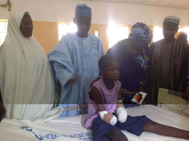 No Child Should Ever Be Made To Go Through This Kind Of Pain - Gov. Dankwamba On The 12-Year Old Amputated 1