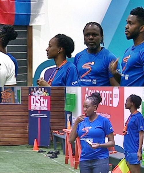 BBNaija: Ex-Super Eagles Player, Joseph Yobo Visits Housemates And Gives Them Advice 1