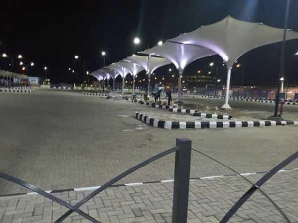 #BuhariInLagos: Here's The Ikeja Bus Terminal Buhari Will Be Commissioning Today 5