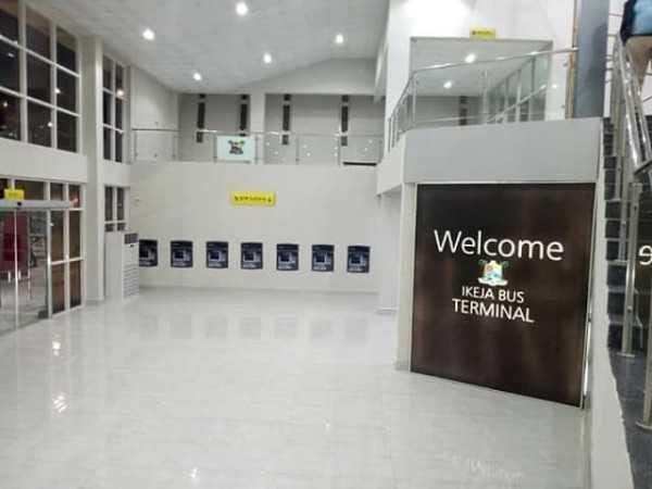 #BuhariInLagos: Here's The Ikeja Bus Terminal Buhari Will Be Commissioning Today 4
