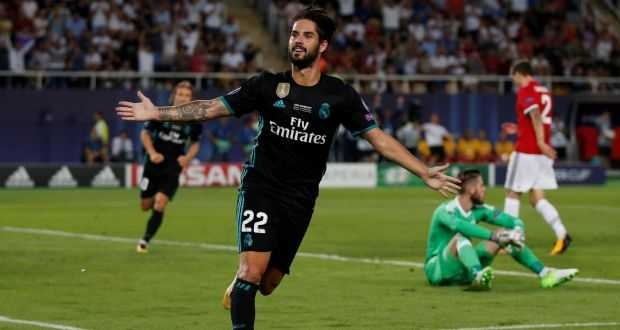Real Madrid Forward, Isco, Is Set To Snub Manchester United And Arsenal For Man City 3