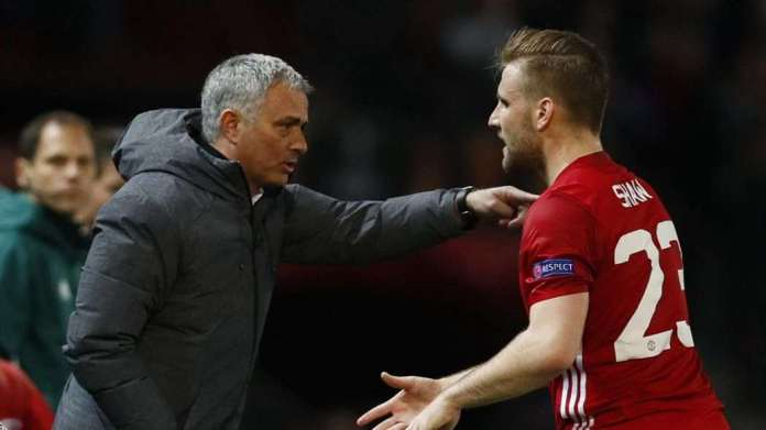 """""""Why Are You Always Picking On Me?"""" - Manchester United's Luke Shaw Accuse Jose Mourinho Of Victimization 1"""