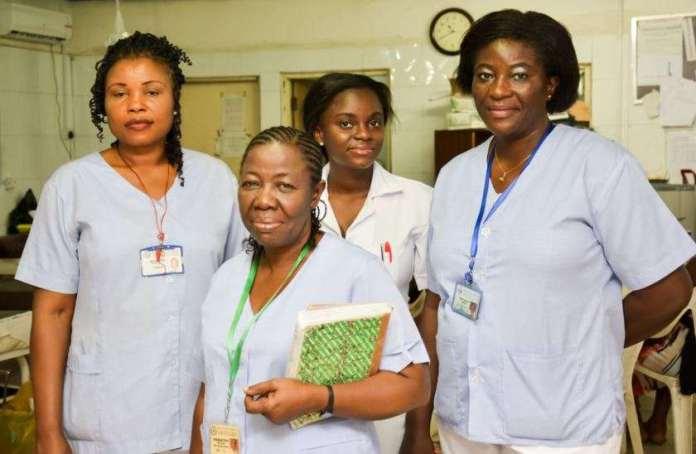 Nigerian nurses koko ng 1