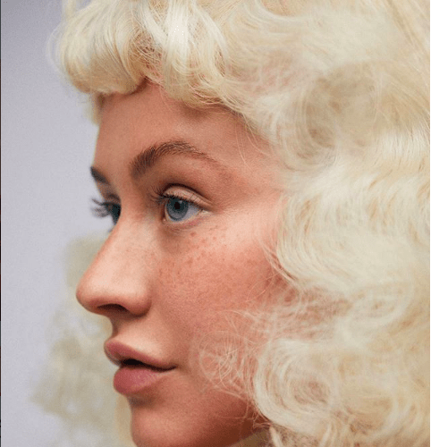 Magazine Cover: Christina Aguilera Is Makeup-Free For Paper Magazine 1