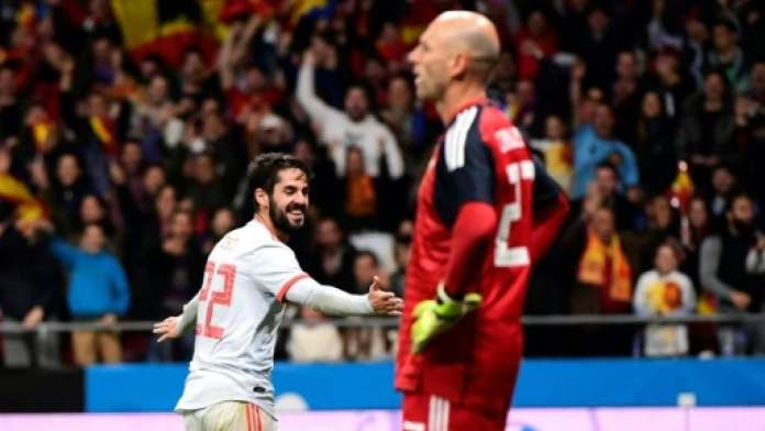 Spain 6 Argentina 1: Isco Scores Hat-trick As Messi Walks Out Watching Humiliating Trashing In Madrid  3