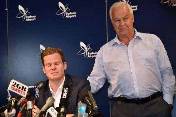 Former Australia Captain Steve SmithBreaks Down In Tears As He Apologies Over Ball-tampering Scandal 2