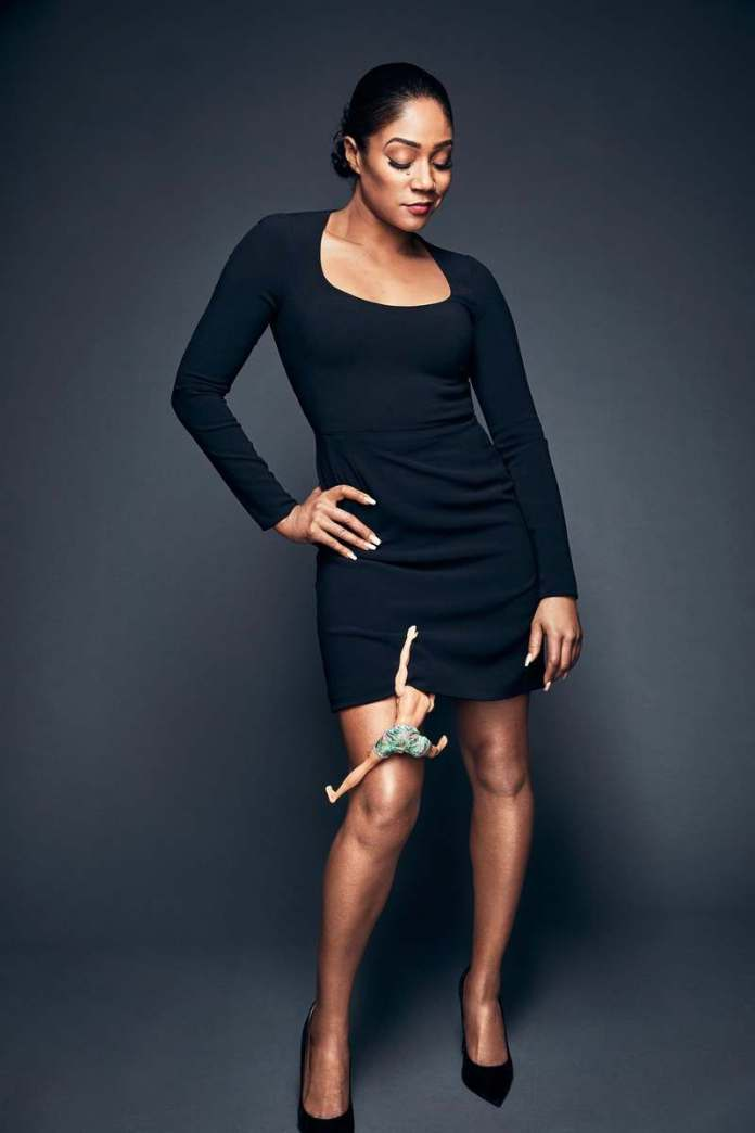 #Sheready! Tiffany Haddish Stuns For New GQ Magazine Shoot 1