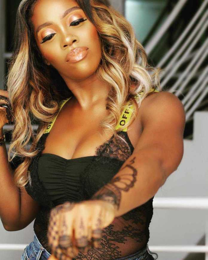 Tiwa Savage Flaunt Her Curves In A Racy Lingerie Ahead Of Her Gidi Fest Performance 2