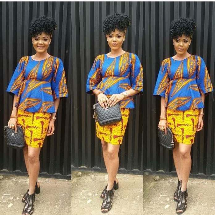 5 Modern Ways To Stylishly Mix And Fuse Your Ankara Game 2