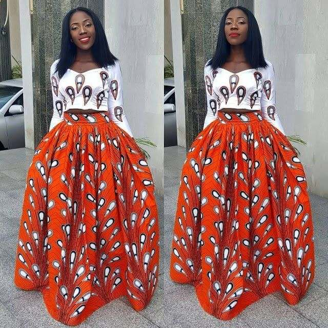 5 Modern Ways To Stylishly Mix And Fuse Your Ankara Game 6