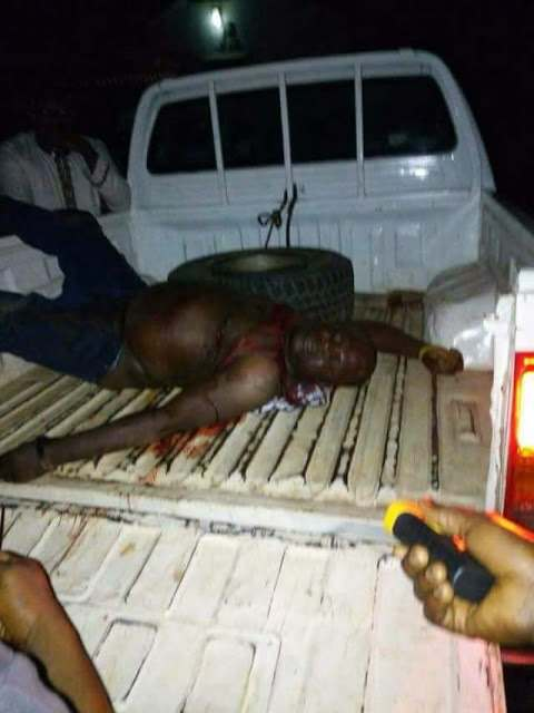 Armed Robbers Murder APC Youth Leader Samson Sedi While Trying To Protect A Young Lady 3