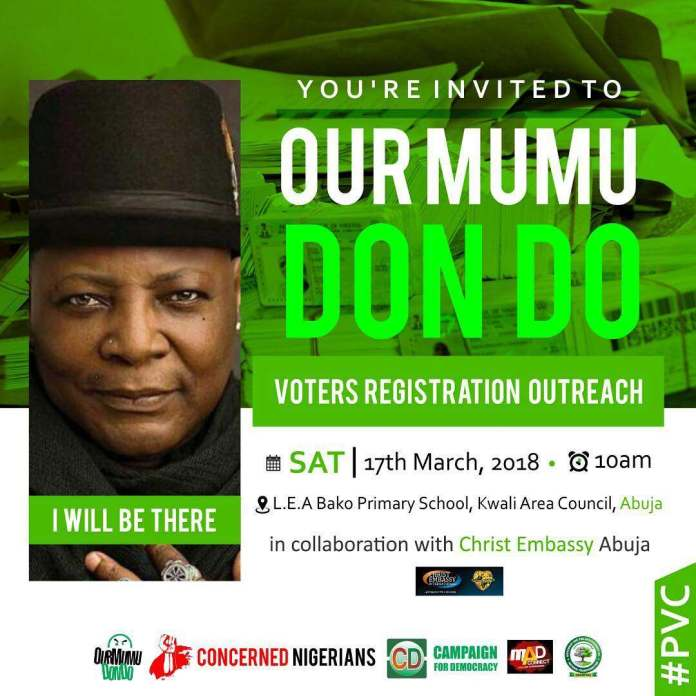 Our Mumu Don Do Founder, Charly Boy, Persuades The People Of Imo State To Vote For The Right Person 2