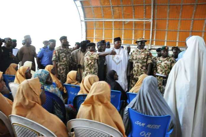 Rescued #DapchiGirls Airlifted To Abuja To Meet President Buhari 3