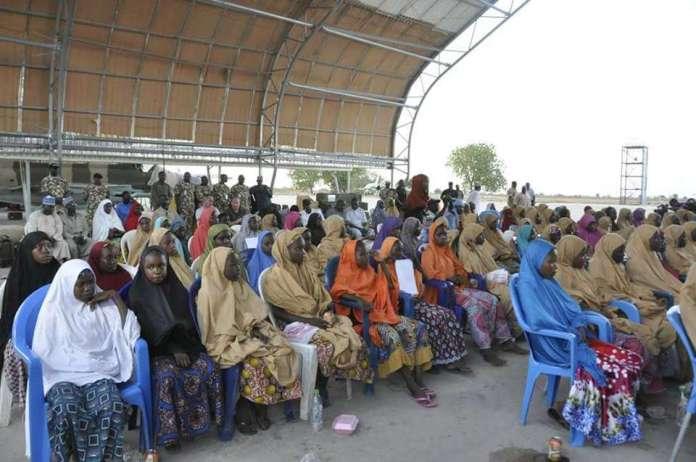 Rescued #DapchiGirls Airlifted To Abuja To Meet President Buhari 2