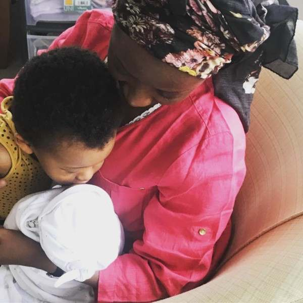 """""""I'm The Happiest Woman Alive"""" Di'ja Is Grateful As She Welcomes Baby Number 2 1"""