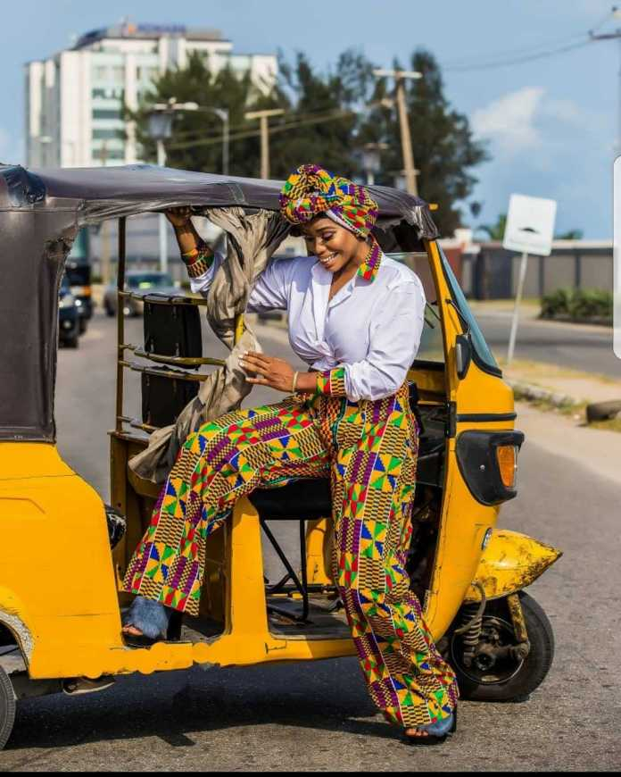 #BirthdayGirl: Ese Eriata Glows In New Colourful Pictures As She Turns A Year Older 3