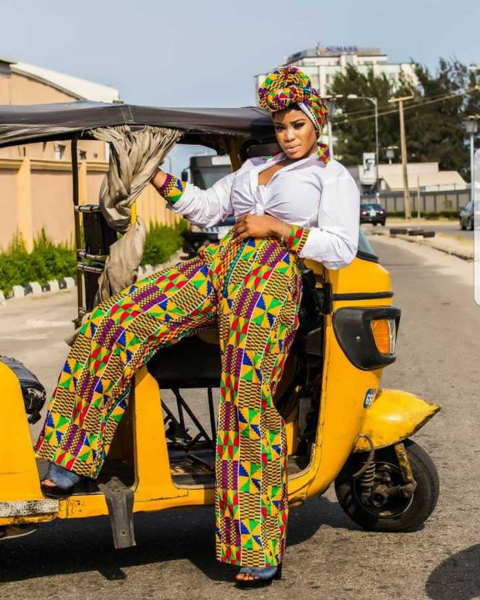 #BirthdayGirl: Ese Eriata Glows In New Colourful Pictures As She Turns A Year Older 2
