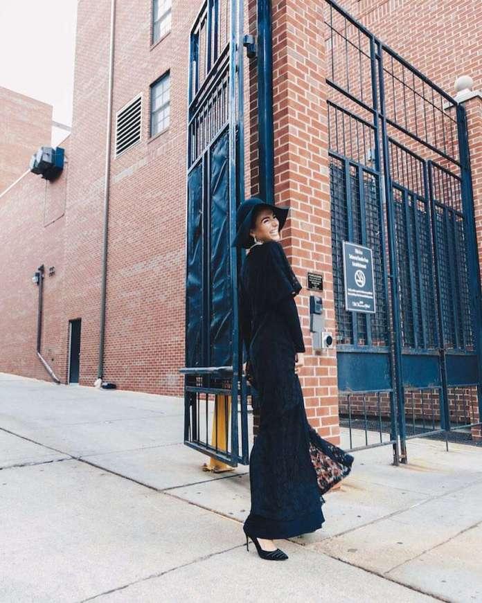 Muslimah Style: Nadya Hadidi Is The Hijabi Queen Of Street Style 1