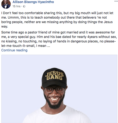 Nigerian Christian Life Coach Has This To Say About Sex And Christianity 2