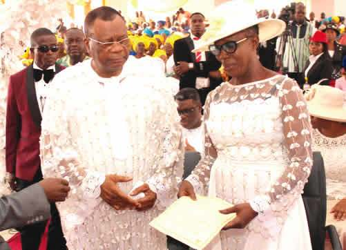 75-Year old Prophet Abiara remarries (Photo) 1