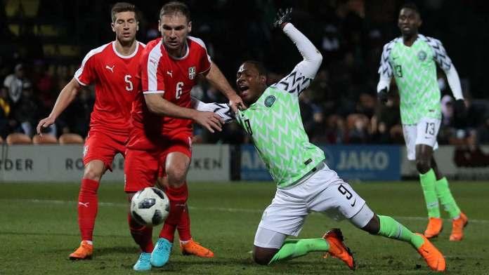 Shocker! Serbia Mercilessly Beats Nigeria In World Cup Friendly Match 1