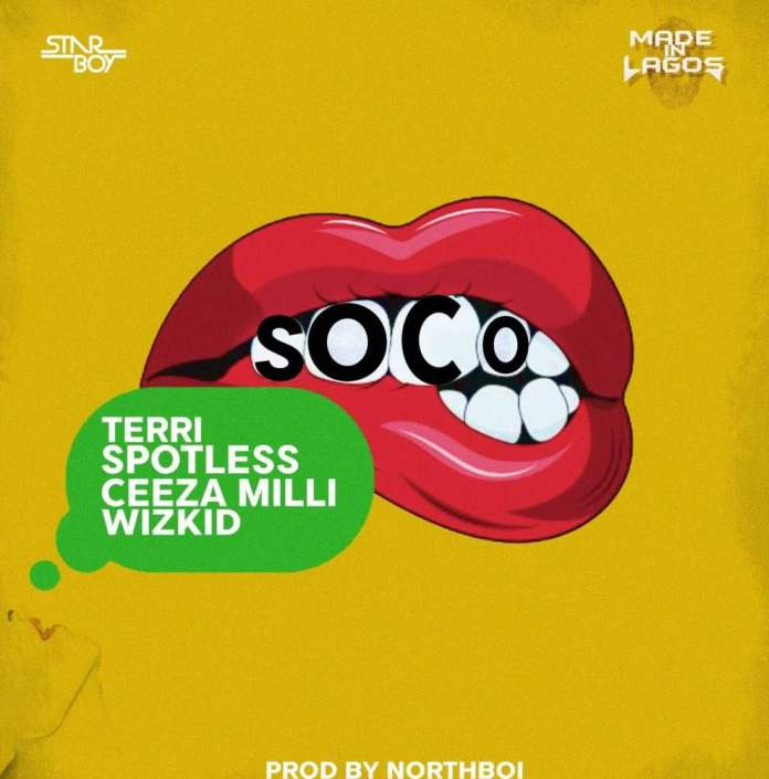 "Must Watch: Wizkid, Ceeza Milli, Spotless360 And Terri Team Up For A Dashing New Video Titled ""Soco"" 1"