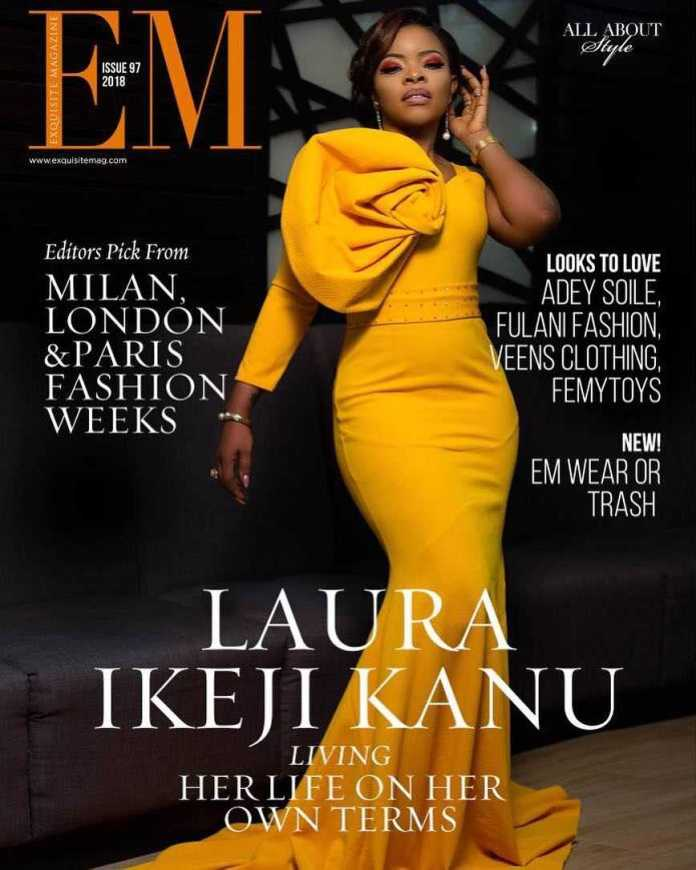 Laura Ikeji Kanu Is All Shades Of Stunning On The Cover Of Exquisite Magazine's Latest Issue 1