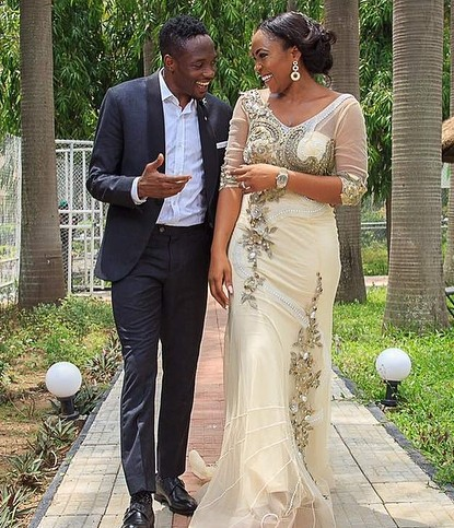 Ahmed Musa and Wife Julie