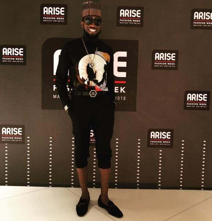 Bangalee! D'Banj Rocks A Kube Cap On The Final Day Of Arise Fashion Week 2