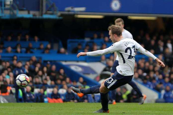 Chelsea 1 Tottenham 3: Christian Eriksen Spectacular And Dele Alli Double EndsSpur's28-year Wait For VictoryAt Stamford Bridge 1