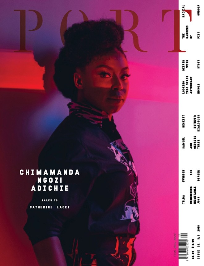 Giant Strides! Chimamanda Adichie Is The First-Ever Woman To Cover Port Magazine 1