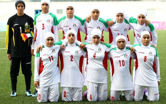 Shocking! Eight Members Of Iran's National Female Football Team Are Men 1