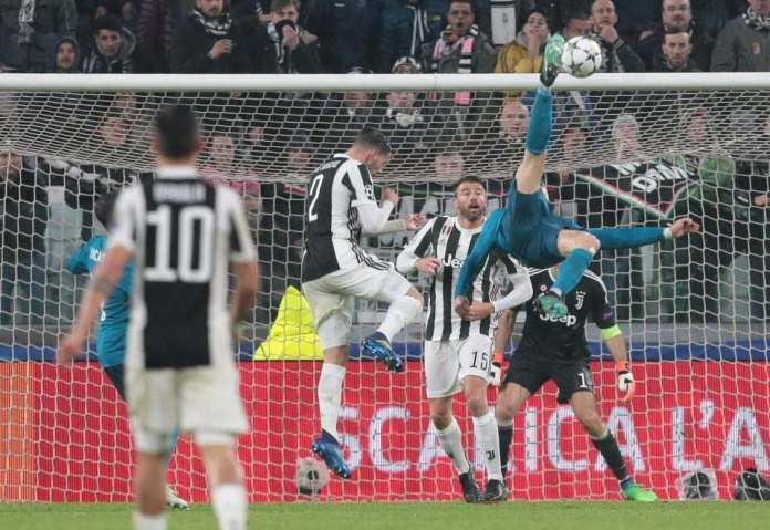 Juventus 0 Real Madrid 3: Cristiano Ronaldo Scores Amazing Bicycle Kick As Home Fans Give Standing Ovation After Rout 1